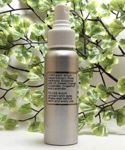 Blessed Botanicals Body Spritzer Invigorating Blend Ingredients
