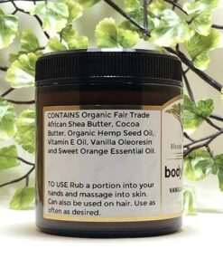 Blessed Botanicals Body Butter Vanilla & Orange - Ingredients