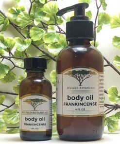Blessed Botanicals Body Oil Frankincense Both Sizes