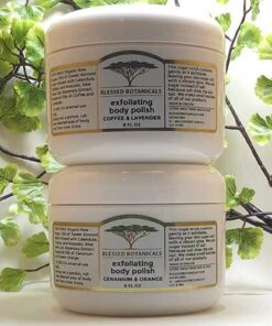 Blessed Botanicals Exfoliating Body Polish - Both Jars