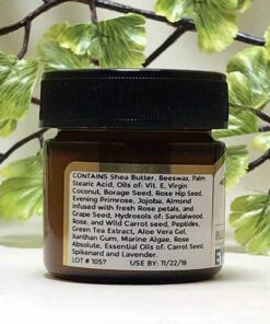 Blessed Botanicals Eye Rescue Ingredients