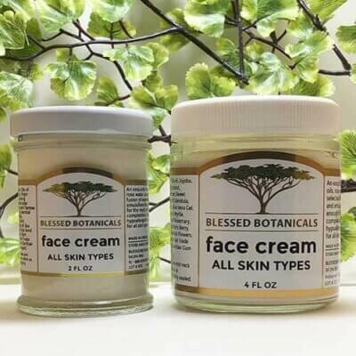Blessed Botanicals Face Cream Both Sizes