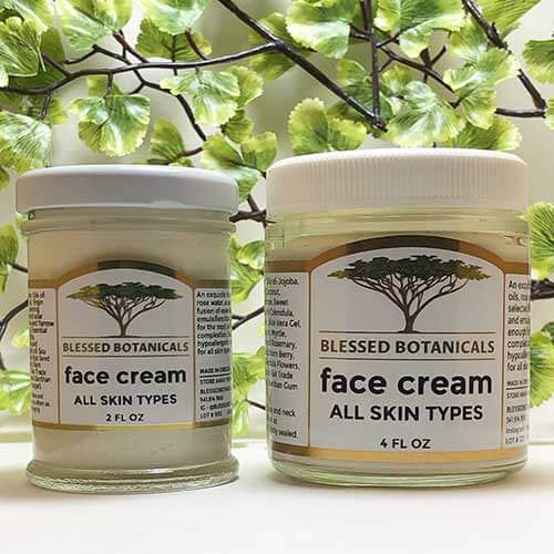 Blessed Botanicals Face Cream Both Sizes
