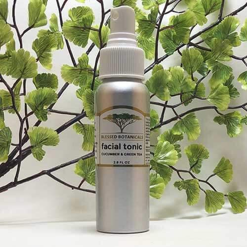 Blessed Botanicals Facial Tonic Bottle