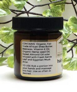 Blessed Botanicals Hair Pomade Musk Ingredients
