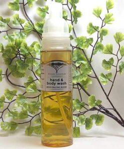 Blessed Botanicals Invigorating Hand & Body Wash Bottle