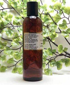 Blessed Botanicals Massage Oil - Ingredients