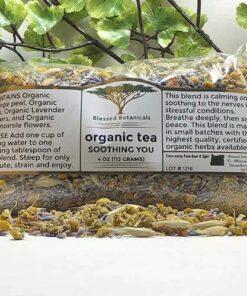 Blessed Botanicals Organic Tea Soothing You 4 oz Bag