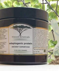 Blessed Botanicals Adaptogenic Protein Jar