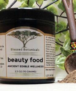 Blessed Botanicals Beauty Food Jar