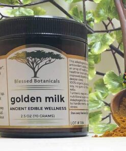 Blessed Botanicals Golden Milk Jar