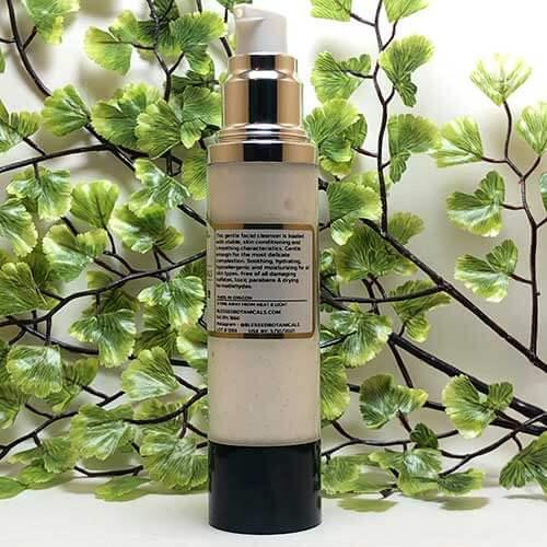 Blessed Botanicals Creamy Face Cleanser - Description