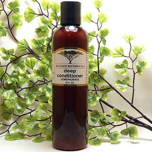 Blessed Botanicals Deep Conditioner Lemongrass 8 fl oz Bottle