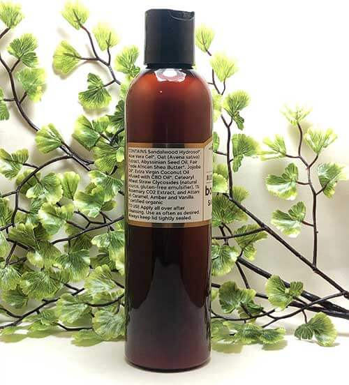 Blessed Botanicals - Body Lotion - Sands of Time - Ingredients